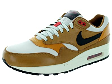 outlet store c8266 4cf29 Nike Men s Air Max 1 Escape Qs Light Bone Black Pine Al Brown Running