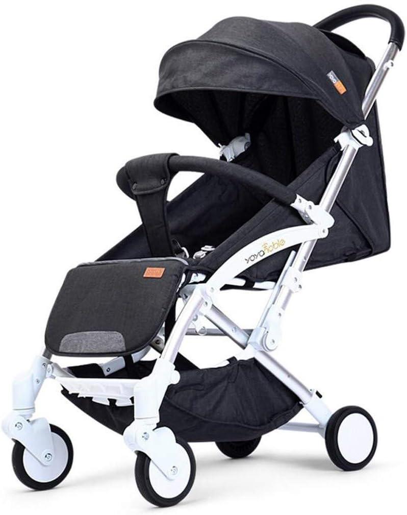 ベビーカーカートは折りたたみ式ベビーカー光搭乗子供の傘をリクライニング座ることができます