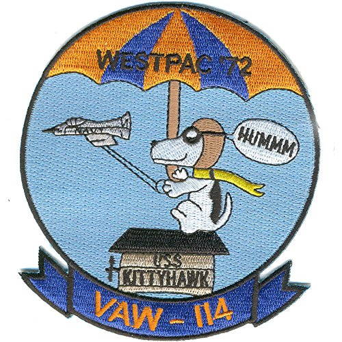VAW-114 Carrier Airborne Early Warning Squadron Westpac-72 Patch