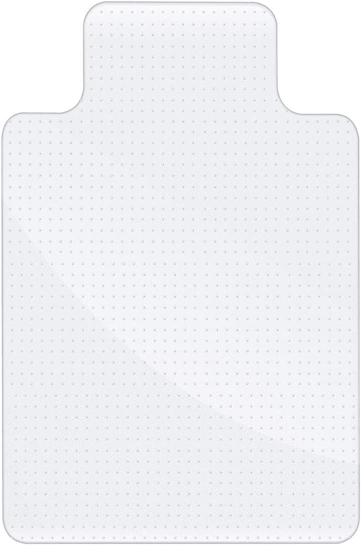 """36""""x 48"""" Office Chair Mat,Office Chair Mat for Carpeted Floors,Non-Slip Carpet Protector,Polypropylene Floor Mat for Office and Home"""
