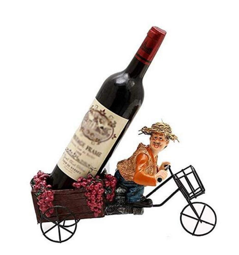 grandes ofertas YSA Estante de exhibición del Vino, Soporte Soporte Soporte del Estante del Vino Proceso Derecho Libre Tenedor de la exhibición de la Botella de Vino Resina Personalidad Decoraciones Interiores, Creativo, Estan  en promociones de estadios