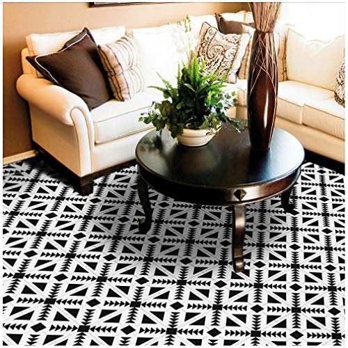 HyFanStr 7.87 x 118 Inches Backsplash Peel & Stick Tile Stickers Self-Adhesive Wall Floor Home Decor -