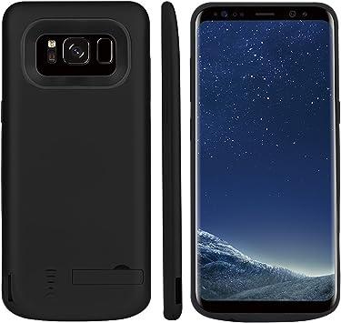 Funda Batería Galaxy S8 Plus, BasicStock 6500mAh Batería Externa ...