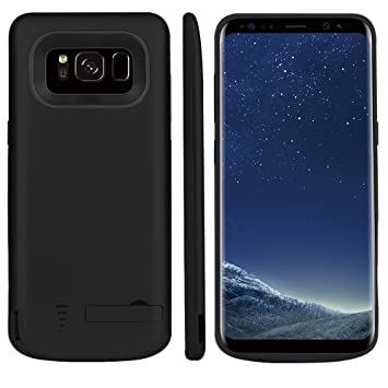 Forhouse Funda Batería Samsung Galaxy S8 Batería Charger Case 5000mAh Power Bank Carcasa Cargador Battery Recargable Externa Funda Ultra Fin Power ...