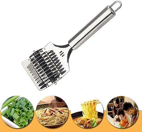 Zeerkeer Acero Inoxidable Noodle Lattice Roller Rejilla Roller Cortador de Masa Pasta Spaghetti Maker para Cocina cocinar