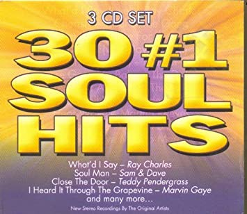 Various Artists - 30 #1 Soul Hits - Amazon com Music