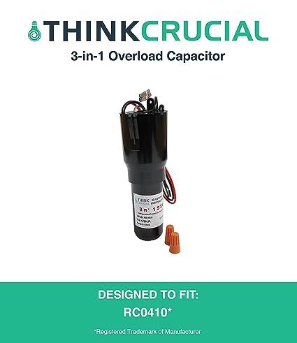 hs41 rco410 3-in-1 Start Relay, condensador y sobrecarga ...