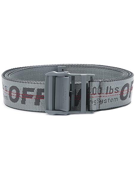 rivenditore online bf6c3 28345 Off-White Cintura Donna OWRB009F172232030808 Tessuto Grigio ...