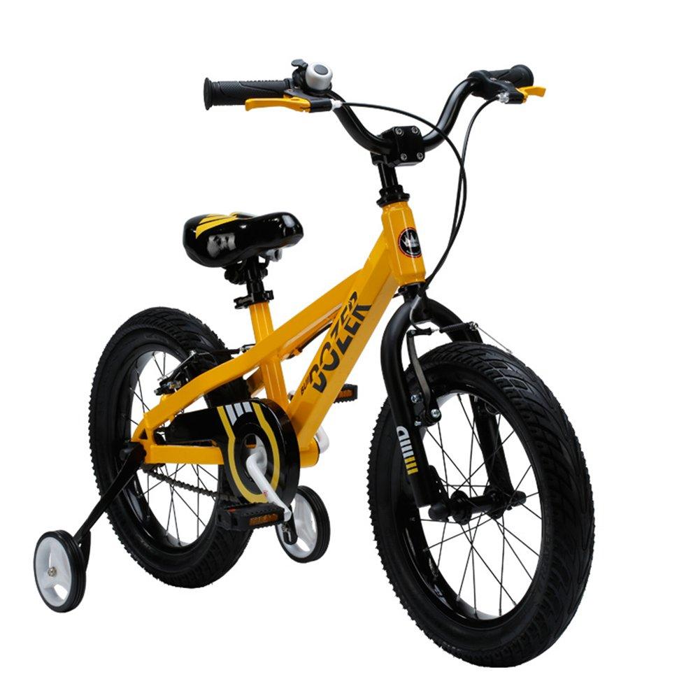 XQ TY-115子供用自転車5-13歳少年少女ハイカーボンスチールキッズバイク安定した耐衝撃性のあるピアノ塗料の安全性 子ども用自転車 ( サイズ さいず : 16inch ) B07C5M517Z 16inch 16inch