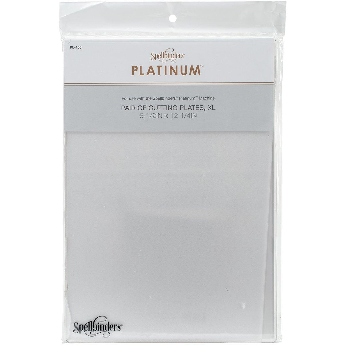 Materiales sint/éticos 0.63 x 22.86 x 34.92 cm Spellbinders Platinum Platos de Corte