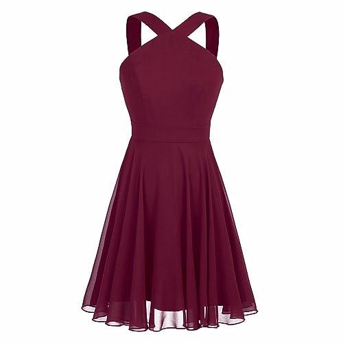 Burgundy Graduation Dress