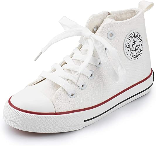 childrens high top trainers
