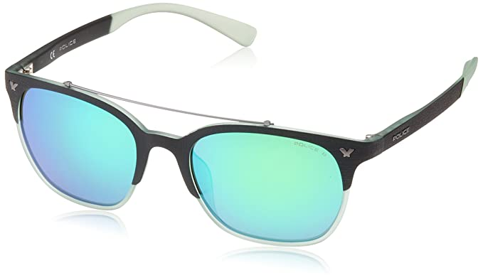 7786b0df5c7 Police Sunglasses SPL161 Game 5 Wayfarer Polarized Sunglasses 53mm ...