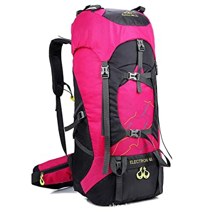 7e54eb79a11d Amazon.com : WGKUMMQN Outdoor Mountaineering Bag Large Capacity Men ...