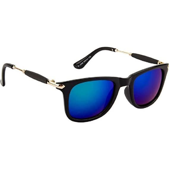 1750242df51 Dervin Aviator Men s Sunglasses (Blue)  Amazon.in  Clothing   Accessories
