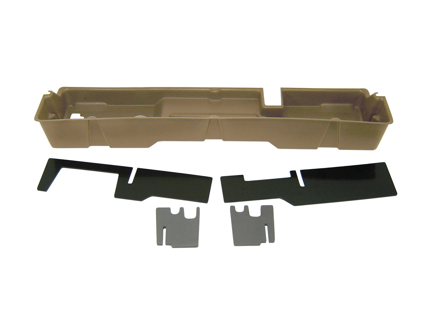 also fits 04 Heritage Supercab Dk Gray DU-HA Under Seat Storage Fits 00-03 Ford F-150 Supercab Part #20007