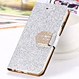 Samsung Galaxy S7 Edge Case, Cover Glitter Bling Crystal Diamond Leather Wallet Case For Samsung Galaxy S7 Edge 5.5 inch