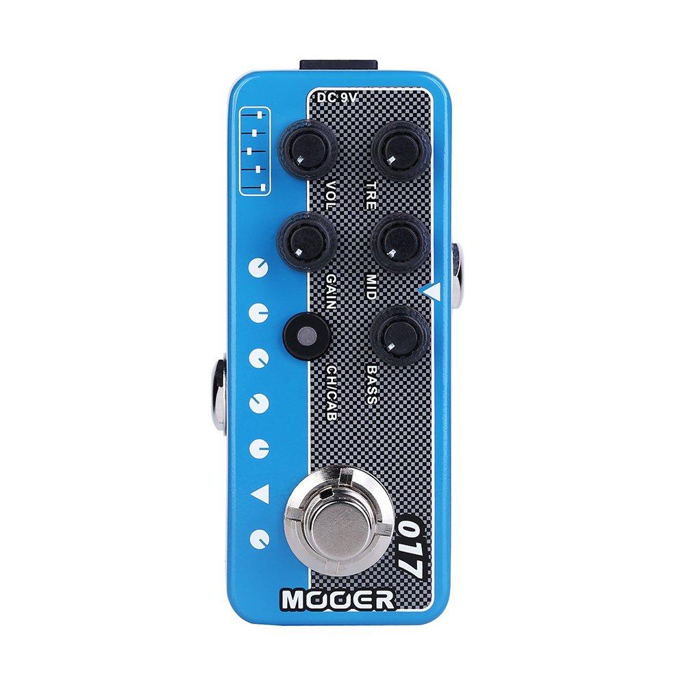 MOOER 017 CALI MK IV Digital Micro Preamp