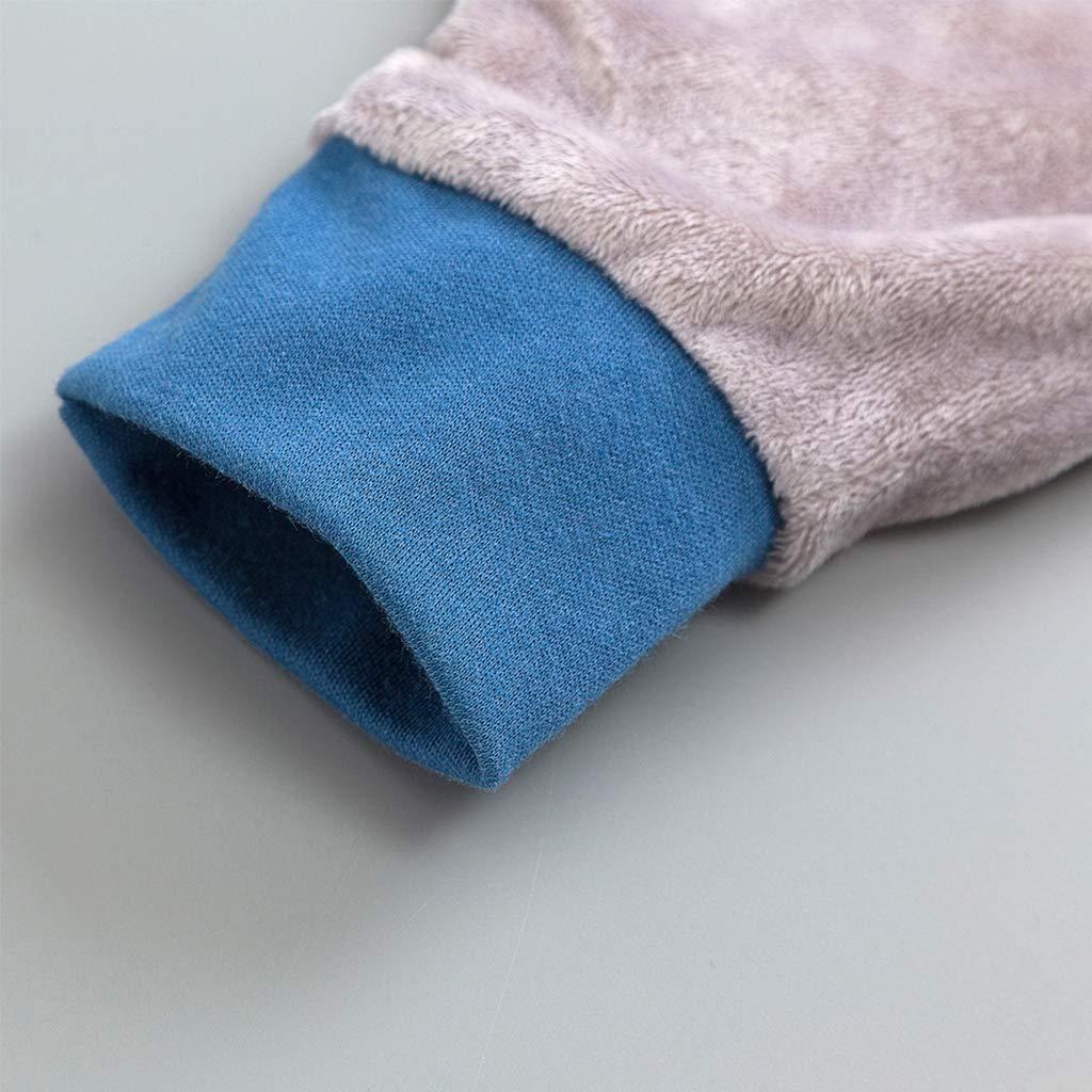 B/éb/é Gigoteuses 1.5 Tog Sac de couchage pour Bambin avec Des Jambes Fermeture /à Glissi/ère Devant 18-36 Mois