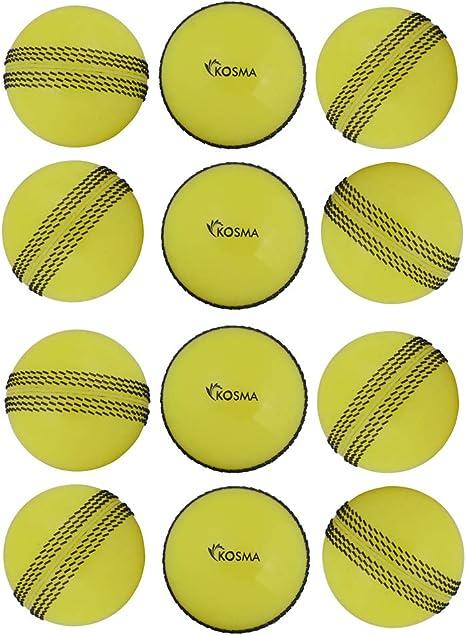 Kosma Juego de pelota de cricket Windball de 12 piezas | Bolas de ...
