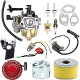 Wellsking GX160 Carburetor for GX140 GX 160 GX168 GX 168 GX200 GX 200 5HP 5.5HP 6.5HP Engine Replace 16100-ZH8-W51 16100-ZH8-