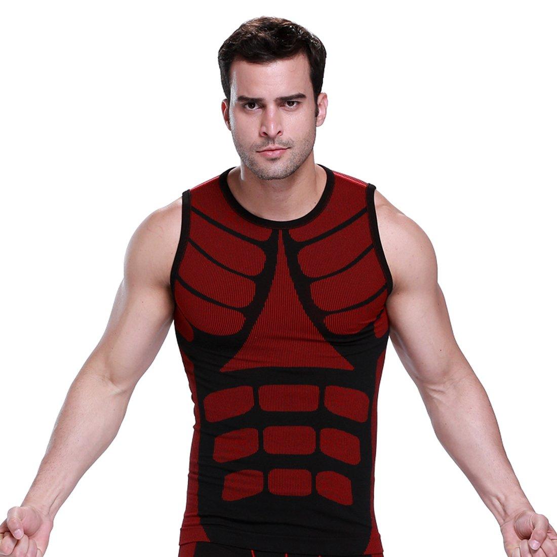 ZEROBODYS Men's Outdoor Quick-drying Vest Sports Vest Running Clothing SS-M08