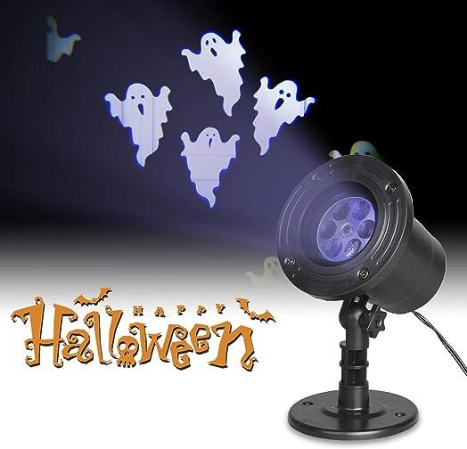 PEIDUO Halloween LED Projector Ghost Rotating Projectors Lights Waterproof Outdoor Landscape Decorative Lighting
