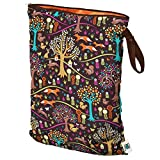 wet bag - Planet Wise Wet Diaper Bag, Jewel Woods, Large