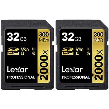 Amazon.com: Lexar Pro LSD32GCBNA2000R - Tarjeta de memoria ...