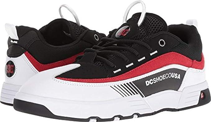 fb8b2fa48f Amazon.com  DC Shoes Men s Legacy 98 Slim Shoes Black White Red 8.5 ...