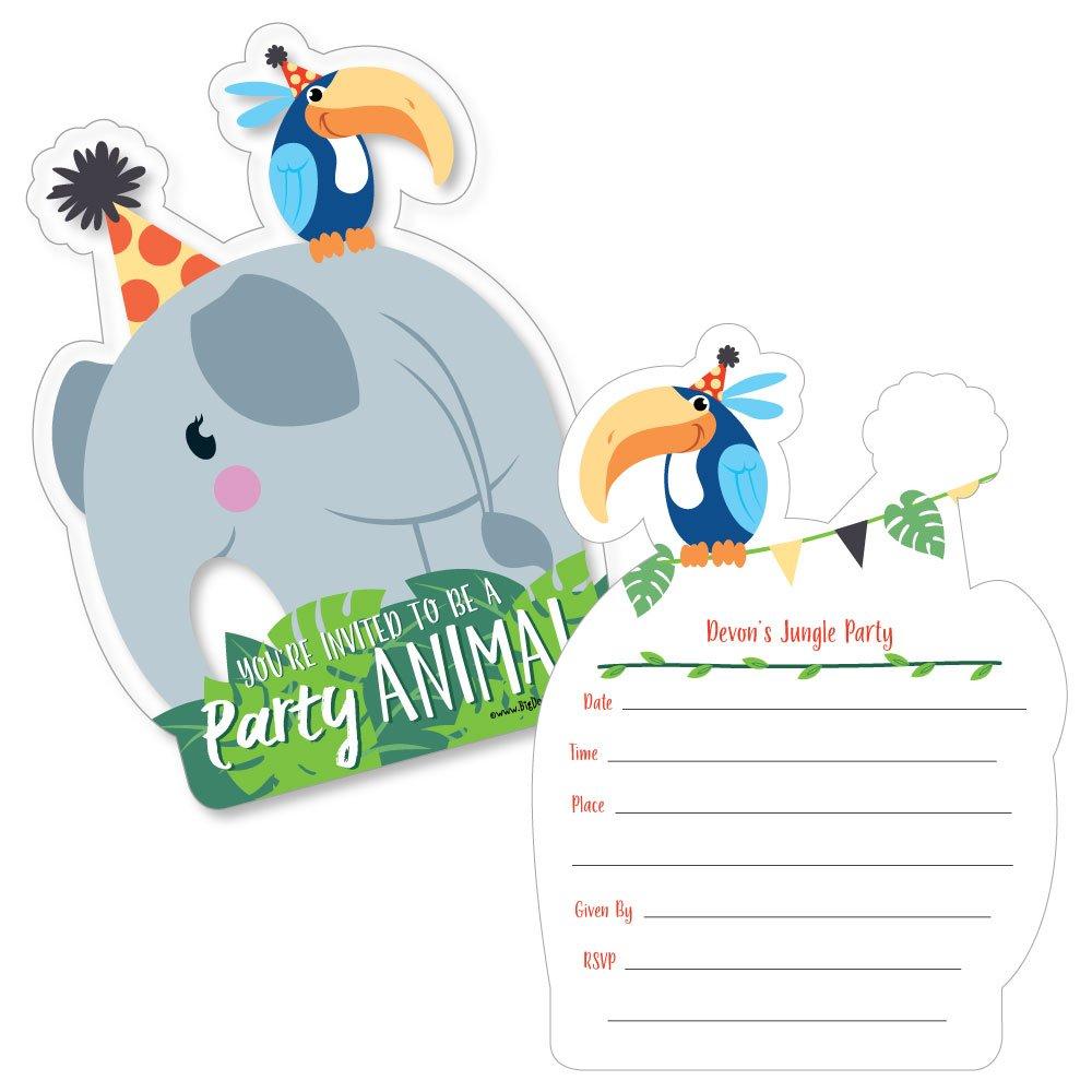 Amazon.com: Custom Jungle Party Animals - Personalized Safari Zoo ...