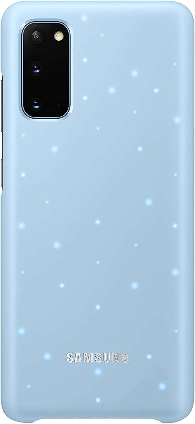 Samsung Led Smartphone Cover Ef Kg980 For Galaxy S20 S20 5g Mobile Phone Case Led Notifications Light Effects Protective Case Blue Elektronik