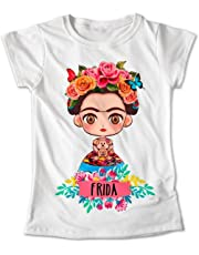 Blusa Frida Kahlo Mexico Colores Playera Estampado #320