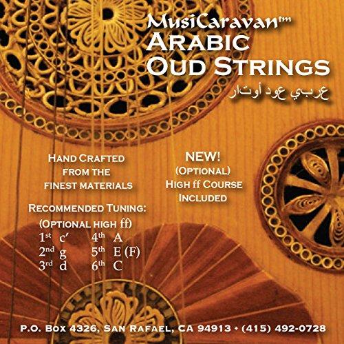 Oud String Arabic Set by MusiCaravan by MusiCaravan