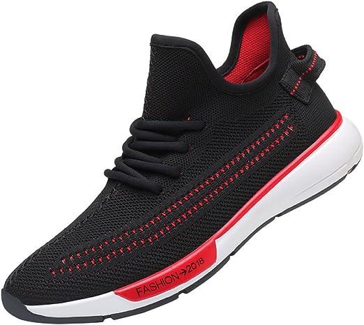 RSHENG Flying Knit Mesh Shoes Casual Sports Shoes Zapatillas De Running: Amazon.es: Ropa y accesorios