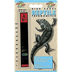 Zoo Med Laboratories SZMTH10 Hi Range Strip Thermometer (Packaging may vary)