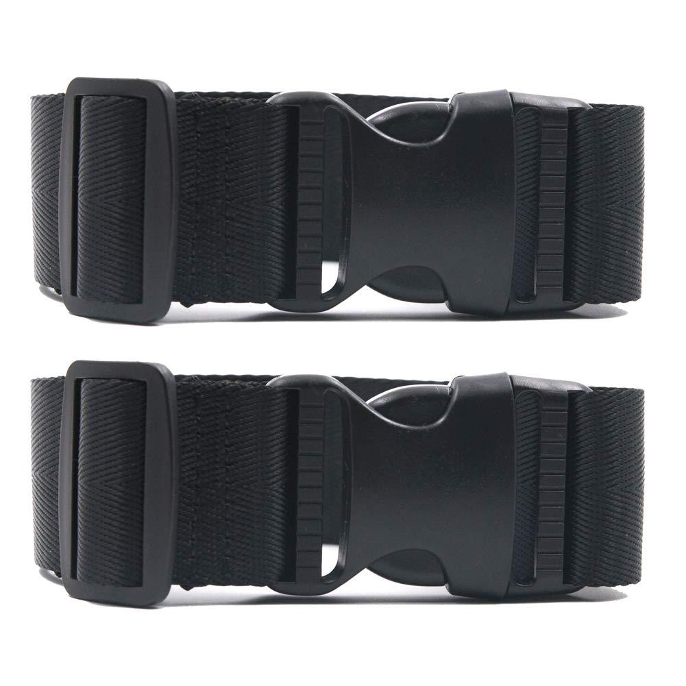 荷物ストラップ旅行荷物スーツケース調整可能ベルト旅行Attachment B07DLCHWK7