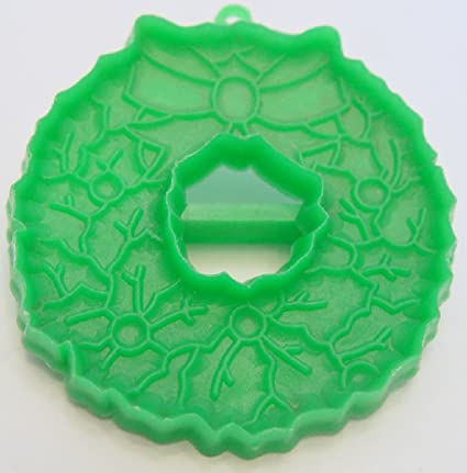 Amazon Com Vintage Hallmark Cookie Cutter Ornate Green Christmas