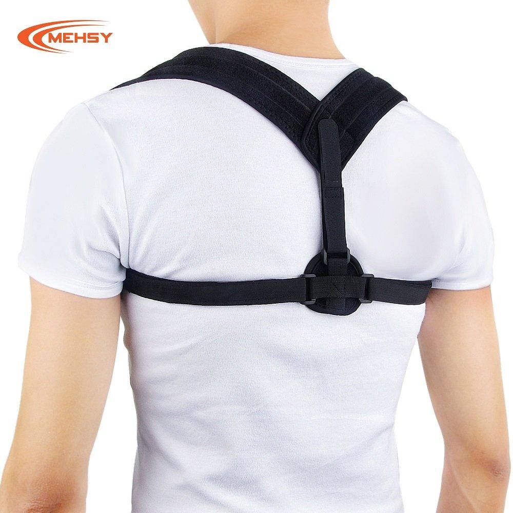 Posture Corrector For Women & Men - Back Posture Corrector - Effective and Comfortable Adjustable Posture Correct Brace - Back Posture - Shoulder Posture Brace - Upper Back Support Brace