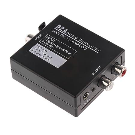 Gazechimp Cable de Fibra óptica Adaptador Convertidor de Audio Digital Diseñado para Conmutación: Amazon.es: Electrónica