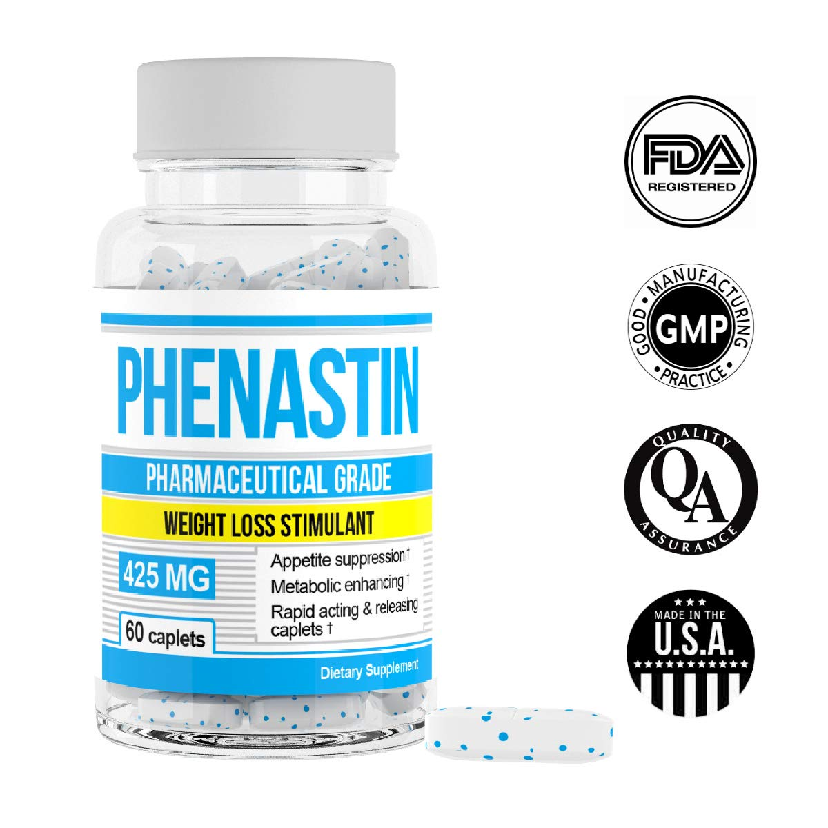 Phenastin - Diet Pills Extra Strength Weight Loss Aid Formulated for Men and Women by Phenastin (Image #3)