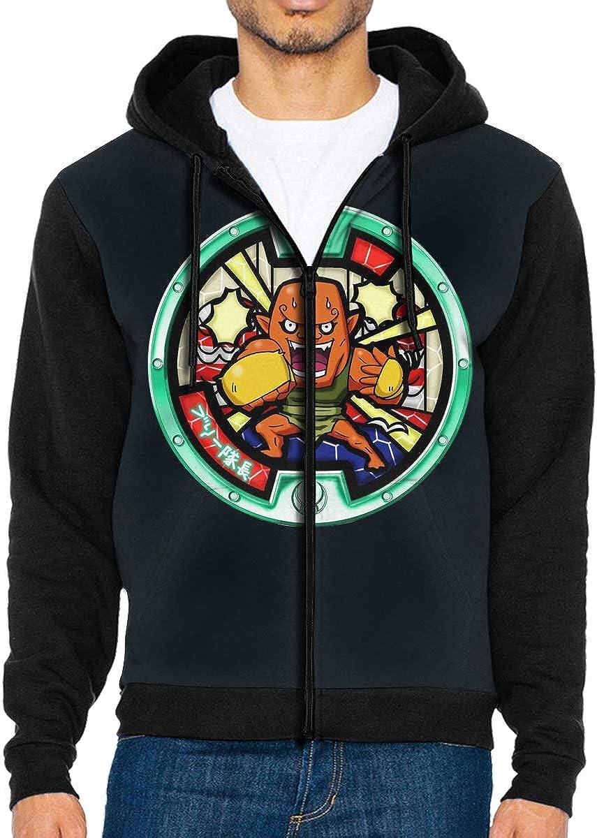 Takeyia Full-Zip Classic Hood Hooded Sweater You/_ka/_i Wat/_ch AnimeSweatshirt for Mans