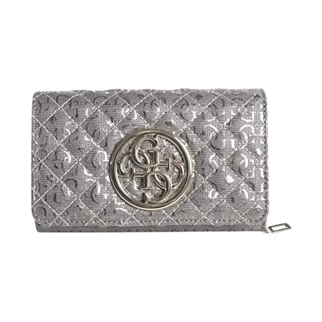 Guess Monedero, Gris Peltre (Plateado) - 30225: Amazon.es ...