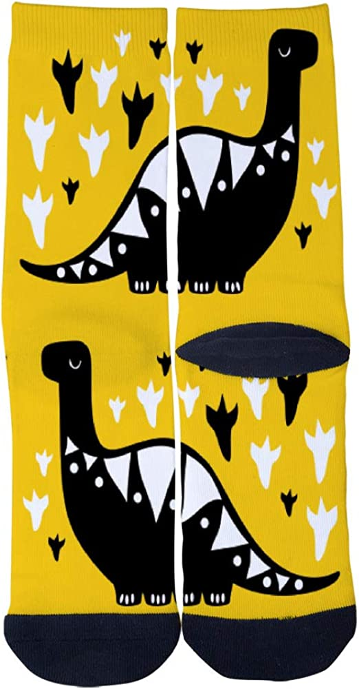 Dinosaur Animal Socks Mens Womens Casual Socks Custom Creative Crew Socks