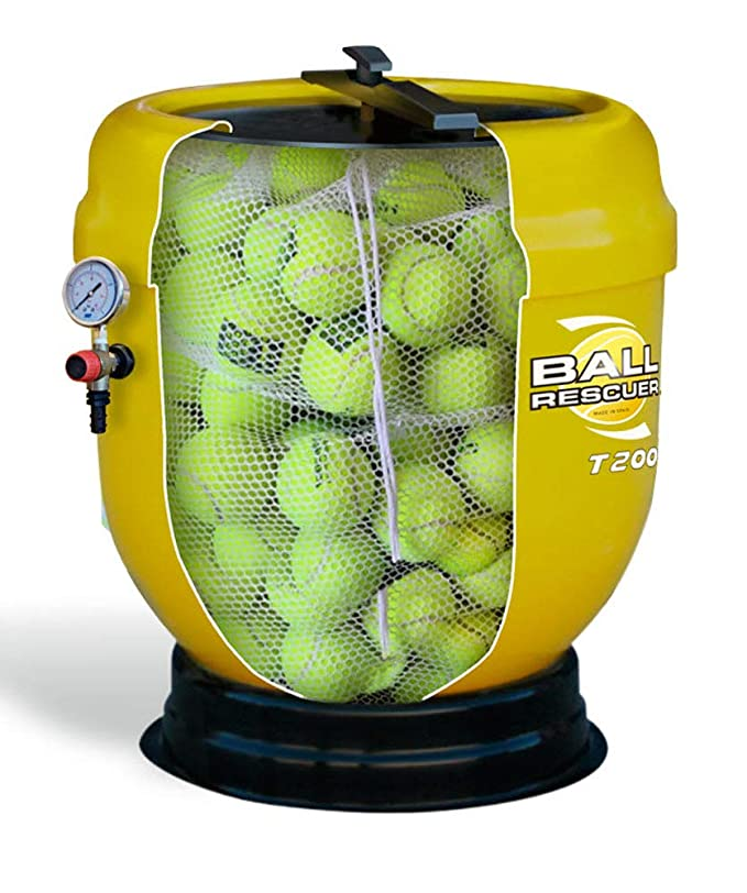BALL RESCUER T-200. Tanque Presurizador de Pelotas de Tenis ...