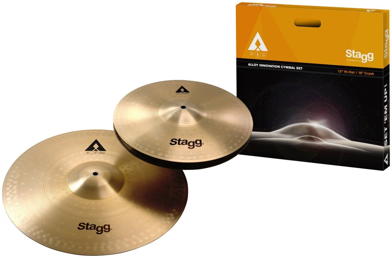Stagg AXA SET Hi-Hat/Crash Cymbal Set