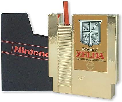 Amazon.com: Legend of Zelda - Toldo de cartón de oro NES con ...