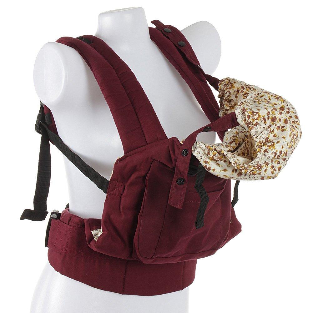 e7940f861de23 Fetoo Babytragetasche Babytrage Baby Fördermaschine Rucksack Bauch und  Hüfttrage Tragegurt