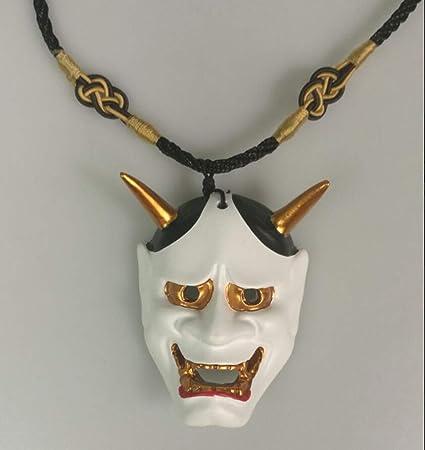 Handmade Hannya Necklace Pendant Float Draw Zephyr Gift