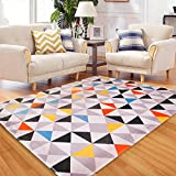 Fashion Geometry Home Rugs - MeMoreCool Nine Patterns No Fading Anti-slipping Simple Style Living Room Tea Table Carpets 39 X 59 Inch